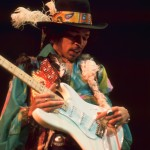 Jimi Hendrix at his fine-feathered best at Royal Albert Hall