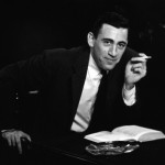 J.D. Salinger looking debonair. Salinger premieres 1/21/14 on PBS 9-11:30pm!