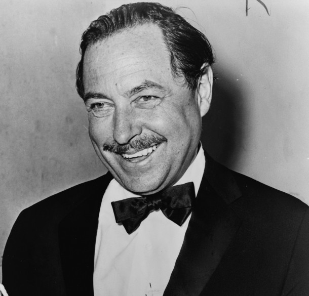 Tennessee Williams at age 54 in 1965. Photo by Orland Fernandez.