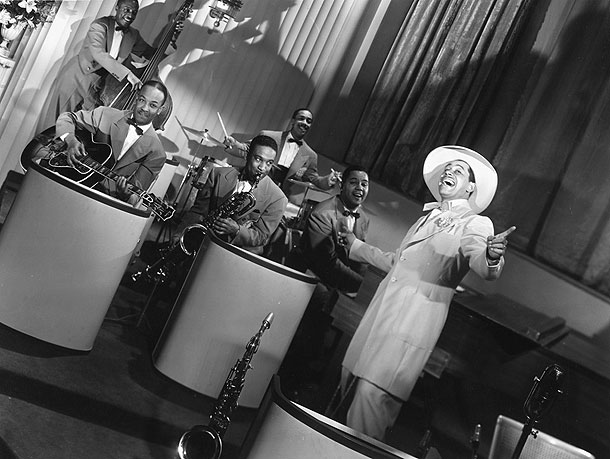 Cab Calloway in Stormy Weather (1943). Image courtesy of Artline Films / J.-F. Pitet.