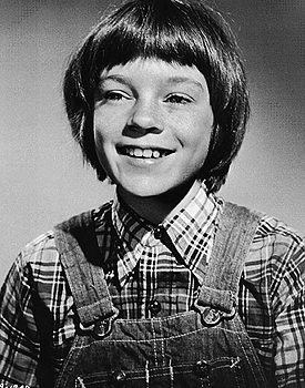 Mary Badham as Scout in the film of To Kill a Mockingbird