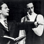 (l to r) Joffrey Ballet founders Robert Joffrey and Gerald Arpino, circa early 1960s. Credit: Photo credit unknown.