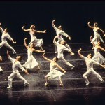 """""""Sometimes It Snows in April,"""" choreographed by Laura Dean, from the Joffrey Ballet's """"Billboards"""" rock ballet set to the music of Prince. Photo Credit: Herbert Migdoll"""
