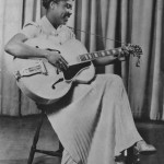 Sister Rosetta Tharpe as a teenager in the early 1930s. Photo Credit: Photo source: Roxie Moore