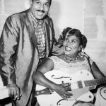 Sister Rosetta Tharpe with her third husband, and manager, Russell Morrison in the early 1950s. Photo Credit: Photo source: Roxie Moore