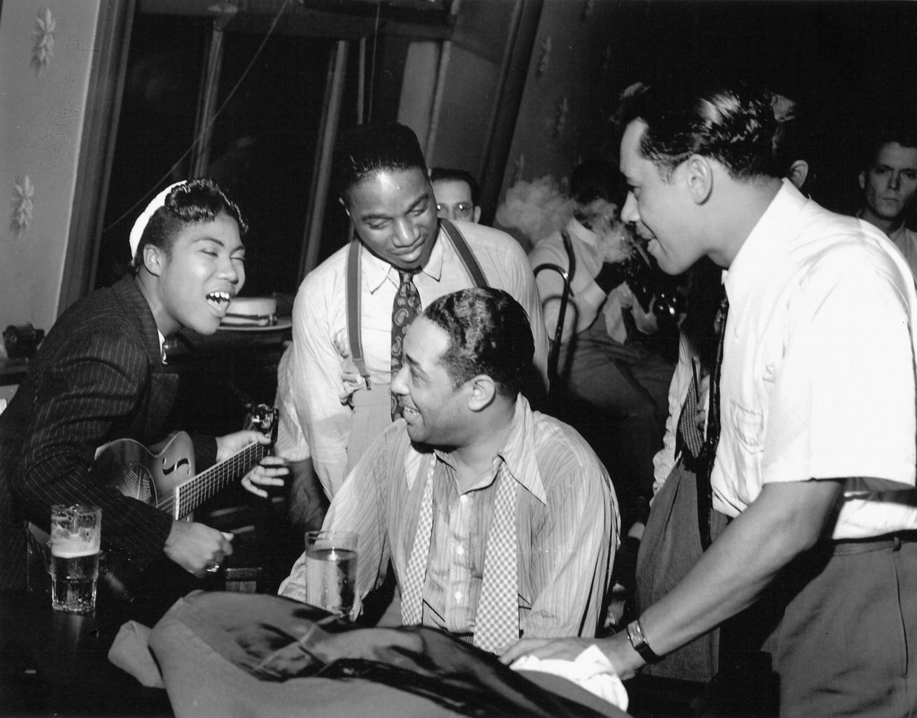 duke ellington s influence on music Ellington opens his autobiography, music is my mistress with the story of his own  his grandmother daisy had such a strong influence that all the ellington men.