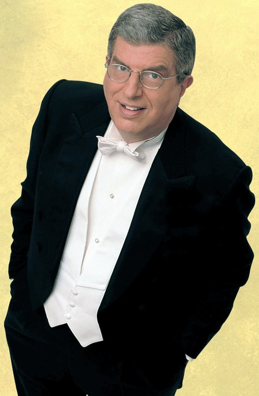 Marvin Hamlisch was principal pops conductor for the Pittsburgh Symphony Orchestra and other orchestras nationwide. Photo courtesy of The Pittsburgh Symphony Orchestra.