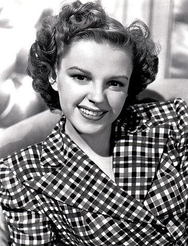 Judy Garland, circa 1940s.
