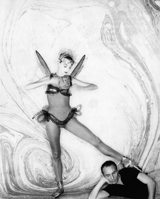 Tanaquil Le Clercq and George Balanchine, circa his 1952 ballet Metamorphoses.