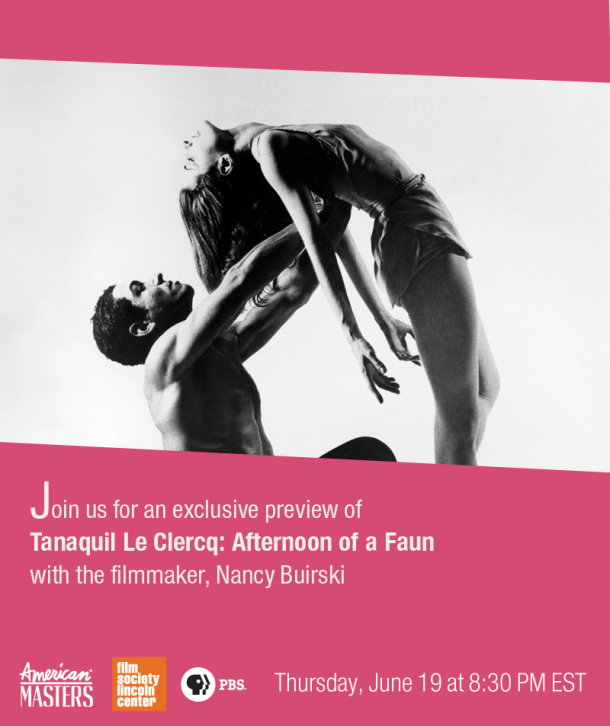 Tanaquil Le Clercq: Afternoon of a Faun preview with filmmaker