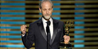 Eddie Kramer wins 2014 Emmy for American Masters: Jimi Hendrix - Hear My Train A Comin'. Photo: Invision/AP