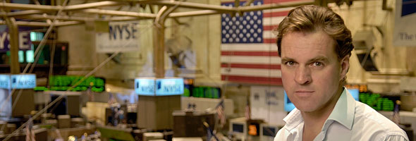 Niall Ferguson at NYSE