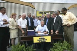 2005 bill signing