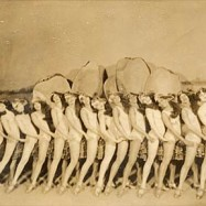 "Chorus girls from the revue ""Hot Chocolates."""