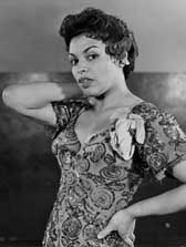 "Muriel Smith, who played the lead in Hammerstein's ""Carmen Jones."""