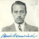 Paul Henreid citizenship application