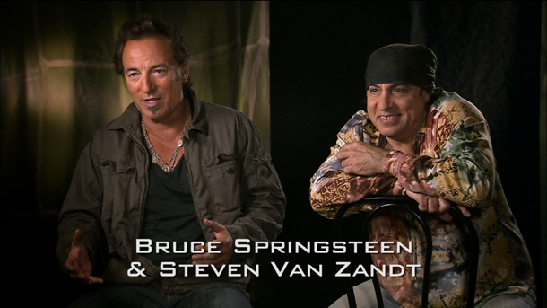 Bruce Springsteen and Steven Van Zandt Interview Dave Clark Five