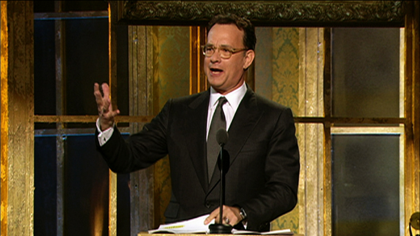 Tom Hanks inducts Dave Clark Five into Rock and Roll Hall of Fame