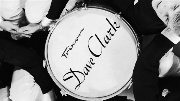 Still of Dave Clark Five Trixon drum from Dave Clark Five and Beyond - Glad All Over.