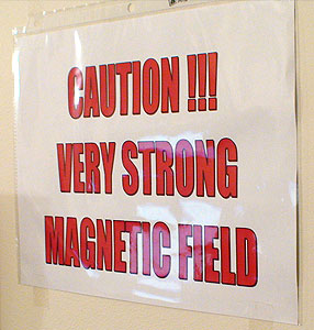 Caution!!! Very Strong Magnetic Field