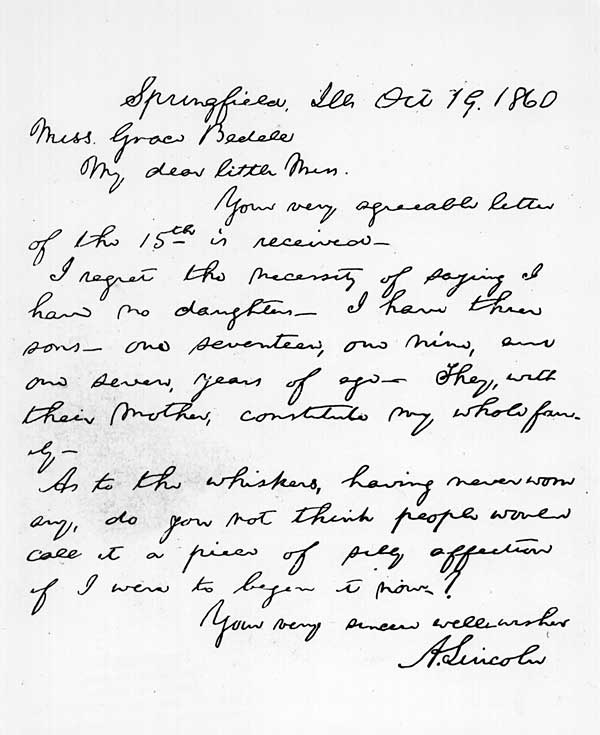 his letter to