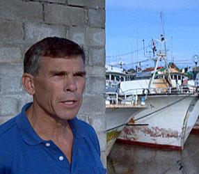 Filmmaker and diver Mark Hall