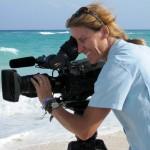 Cinematographer Ann Johnson Prum puts in a tough day on Cayo Largo, Cuba.