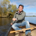 Colin Stafford-Johnson on the Shannon River © Crossing the Line.