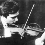 Young Bronislaw Huberman at the height of his career. Photo courtesy the Murray S. Katz Photo Archives of the Israel Philharmonic Orchestra.