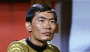"George Takei in ""Star Trek"""