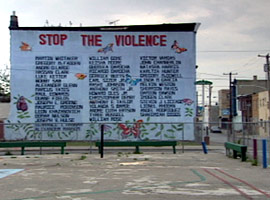 &quot;Stop the Violence&quot;