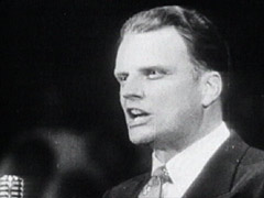 A younger Billy Graham