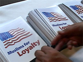Muslims for Loyalty pamphlets