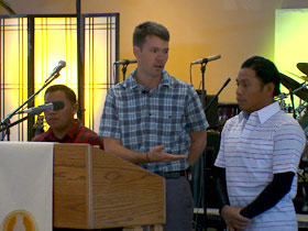 Jordan Buckley with Hispanic farmworkers are reaching out to faith groups in south Florida