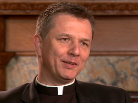 Father Mark Morozowich, acting dean, School of Theology and Religious Studies, Catholic University of America