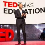 John Legend on set of TED Talks Education