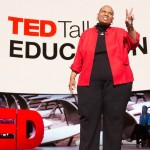 Rita Pierson Gives the Plus 2 Sign at TED Talks Education