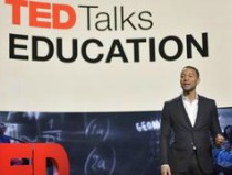 John Legend hosts TED Talks Education