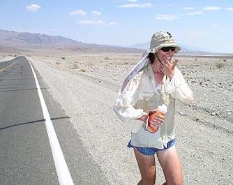 Rocky Desert with Climbing
