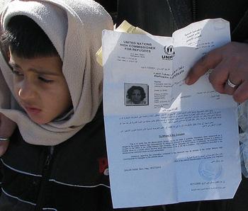 iraqi refugee boy