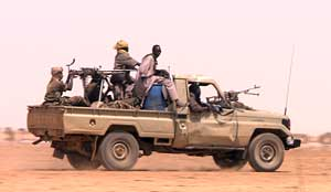 Members of the SLA-Unity faction in Darfur