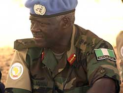 Gen. Martin Agwai, commander of UNAMID