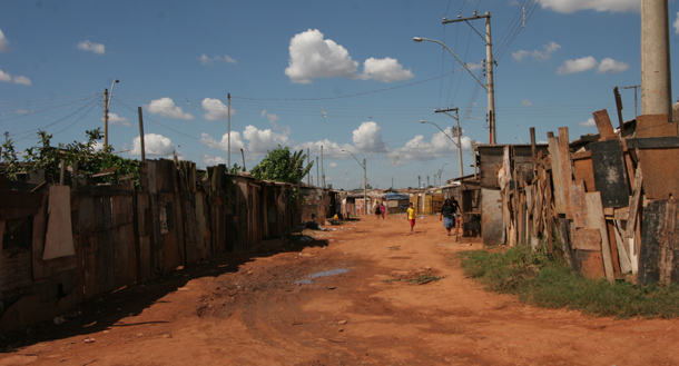 Brasilia shanty town