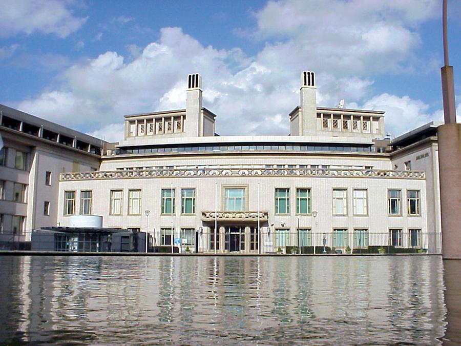 The Hague's Tribunal building.