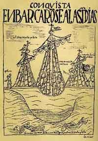 Francisco Pizarros Ship Francisco Pizarro and Diego de