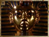 máscara de la muerte de Tutankamón