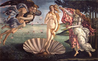 Boticelli: Birth of Venus