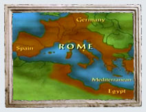 1st Century World Map.The Roman Empire In The First Century The Roman Empire Pbs