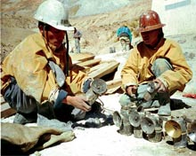 Bolivian Mineworkers
