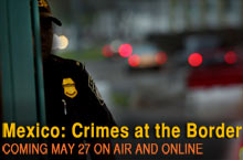 Crimes at the Border logo